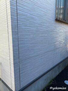 外壁 洗浄後 有限会社横溝工務店