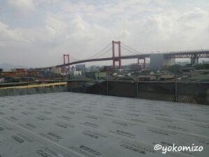 木造3階建て アパート 屋根工事 有限会社横溝工務店